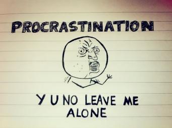 Procrastination-Doodle